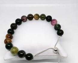 Rainbow Tourmaline Bracelet 105.00 TCW