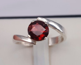 Natural Garnet beautiful Ring