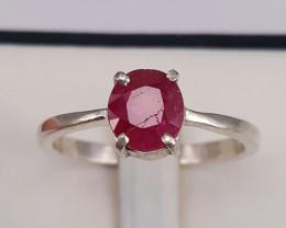 Natural Ruby Gorgoues Ring