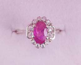 Natural Beautiful Ruby Ring.