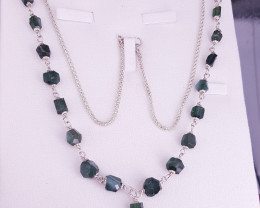 Natural Tourmaline Necklace.