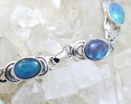 Aussie Opal triplet Bracelet  code NA 345