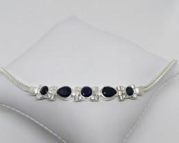 Handmade Sapphire Bracelet 3.50 TCW