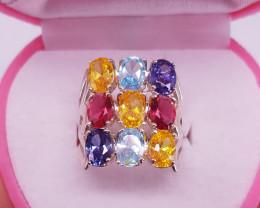 Beautiful CZ Zircons Ring.