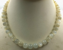 490 Crt Natural Moonstone Necklace