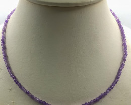 30 Crt Natural Amethyst Necklace
