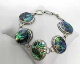 Handmade Abalone Shell Bracelet