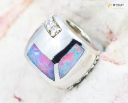 Fire Opal Bracelet Charm - CH322