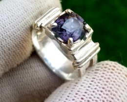 26.60 ct Natural Spinel 925 Silver Ring for Men
