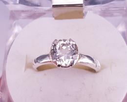 Beautiful Kunzite Ring.