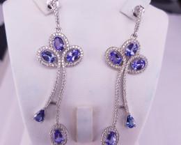 Beautiful Tanzanite Earrings.