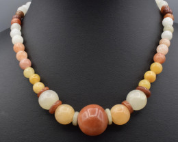 Natural Multicolor Beads Necklace