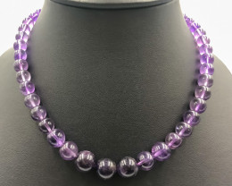 260.5 Crt Natural Amethyst Necklace