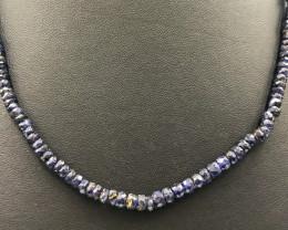 88.5 Crt Sapphire Necklace