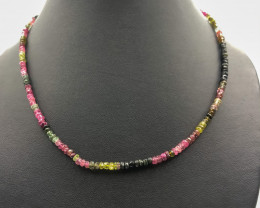 60.80 Crt Tourmaline Necklace