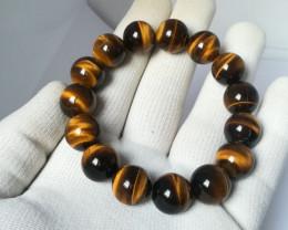 Natural Tiger Eye Bracelet 301.00 Carats