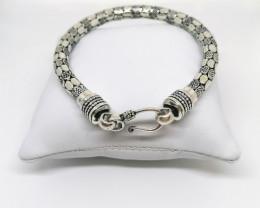 Handmade Sterling Silver Bracelet 23.60g