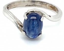 Kyanite 2.70ct Solid 925 Sterling Silver Ring