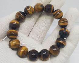 Natural Tiger Eye Bracelet 299.00 Carats N04