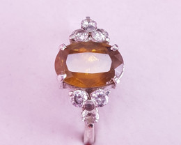 Natural Sphene Ring.