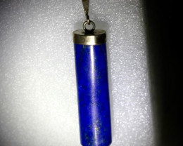 Lapis Lazuli 47.60ct Solid 925 Sterling Silver Pendant