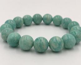 202.75 Crt Amazonite Natural Bracelet