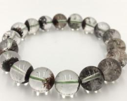 185.15 Crt Natural Phantom Quartz Bracelet