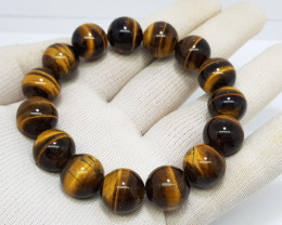 Natural Tiger Eye Bracelet 368.00 Carats