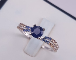 Smart Natural Sapphire Ring