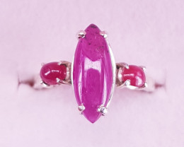 Natural Ruby Ring.