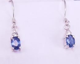 Natural Sapphire Earrings.