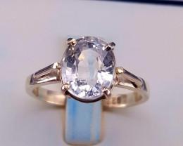 Natural Aquamarine Ring.