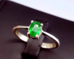 Amazing Natural Emerald Ring