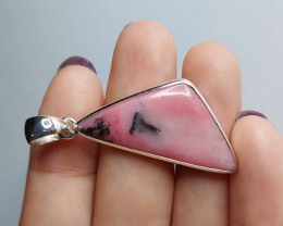 27.20cts STYLISH RHODONITE PENDANT(JNRA-RHP2058)