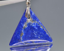 Natural Lapiz lazuli 33.05 Cts Pendant from Afghanistan