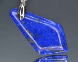 Natural Lapiz lazuli 12.35 Cts Pendant from Afghanistan