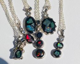 Parcel 6 opal pendants NA 500
