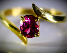 Mahenge Spinel 1.30ct Solid 22K Yellow Gold Ring