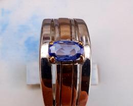 Natural Ceylon  Sapphire Ring.