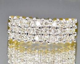 Natural Diamonds and 18k Solid Gold Ring