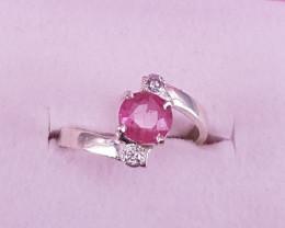 Natural Tourmaline Ring.