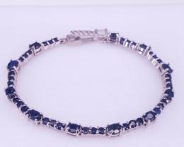 Natural Sapphire Bracelet.