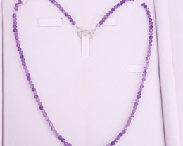 Natural Amethyst Necklace.
