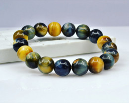 Natural Tiger Eye Bracelete 145.00 Cts Top Quality