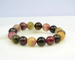 Natural Tourmaline 232.55 Cts Bracelet, Top Quality