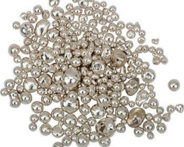 White Palladium Gold Rolling Grain   Granules   Pellets