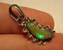 11.85ct Blazing Welo Solid Opal Pendant