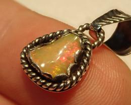 7.61ct Blazing Welo Solid Opal Pendant