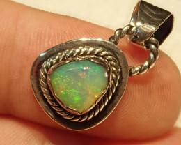 11.65ct Blazing Welo Solid Opal Pendant