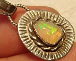 11.16ct Blazing Welo Solid Opal Pendant